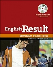 کتاب English Result Elementary Student Book سیاه و سفید