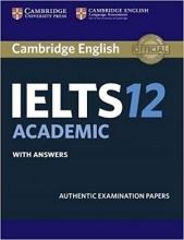 کتاب IELTS Cambridge 12 Academic+CD