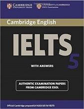 کتاب آیلتس کمبیریج IELTS Cambridge 5+CD
