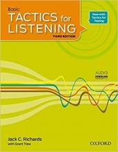 کتاب تکتیس فور لیسنینگ Basic Tactics for Listening Third Edition تحریر
