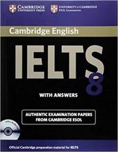 کتاب آیلتس کمبیریج IELTS Cambridge 8+CD