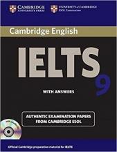 کتاب آیلتس کمبیریج IELTS Cambridge 9+CD