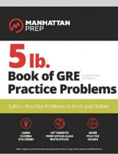 کتاب 5lb. Book of GRE Practice Problems: GRE Manhattan
