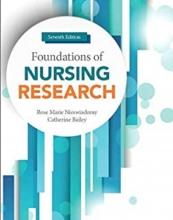 کتاب فاندیشنز آف نرسینگ ریسرچ Foundations of Nursing Research