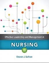 کتاب افکتیو لیدرشیپ اند منیجمنت این نرسینگ Effective Leadership and Management in Nursing