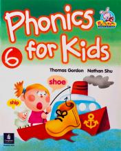 کتاب فونیکس فور کیدز Phonics For Kids 6 Book