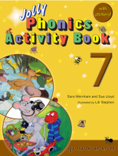 کتاب جولی فونیکز اکتیویتی بوک Jolly Phonics 7 Activity Book