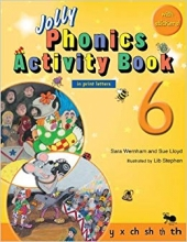 کتاب Jolly Phonics 6 Activity Book
