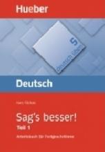 کتاب Deutsch Uben: Sag's Besser! - TEIL 1