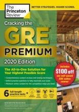 کتاب جی آر ای Cracking the GRE Premium Edition with 6 Practice Tests, 2020