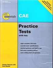 کتاب زبان CAE Practice Tests with key Essentials EXAM