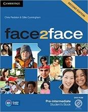 کتاب آموزشی فیس تو فیس Face2Face 2nd Pre-Intermediate SB+WB+CD