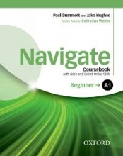 کتاب Navigate Beginner (A1) Coursebook + W.B + CD